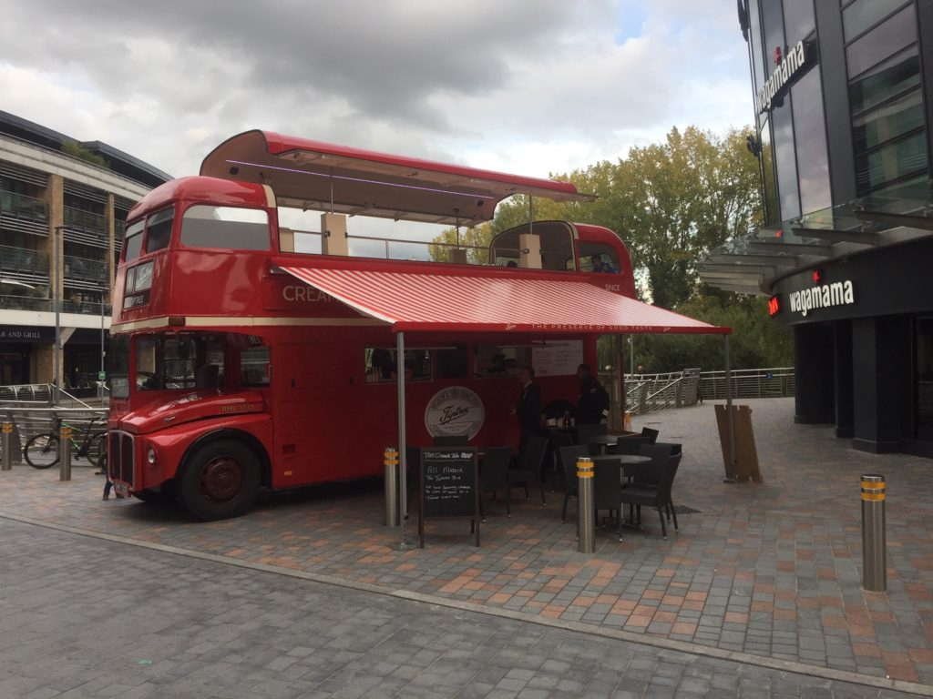 Tiptree Jam Catering Bus