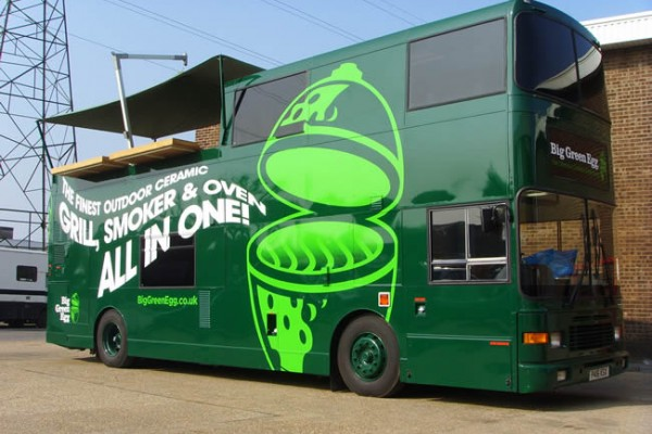 Bus Conversion for Big Green Egg