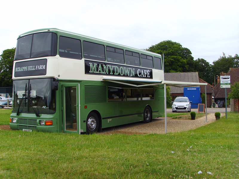 Country Foods Cafe Bus Conversion