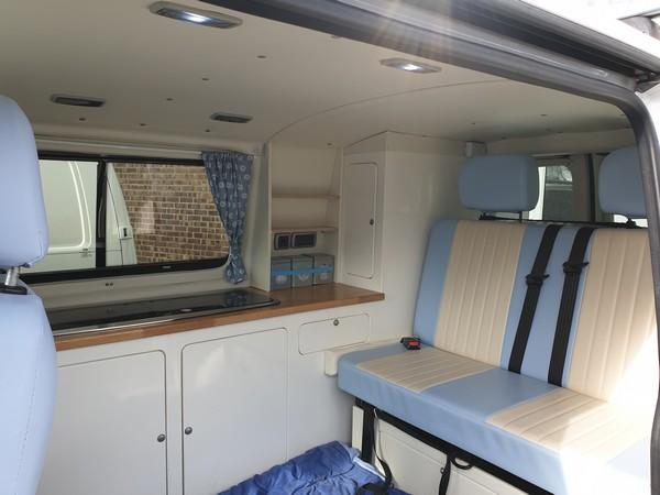 VW Camper conversion interior