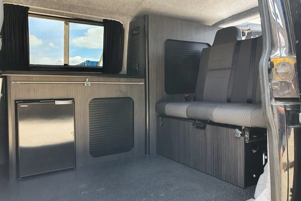 T5 Custom Camper Conversion Interior