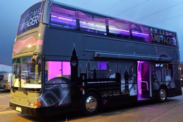 Awesome Voyager Bus Conversion