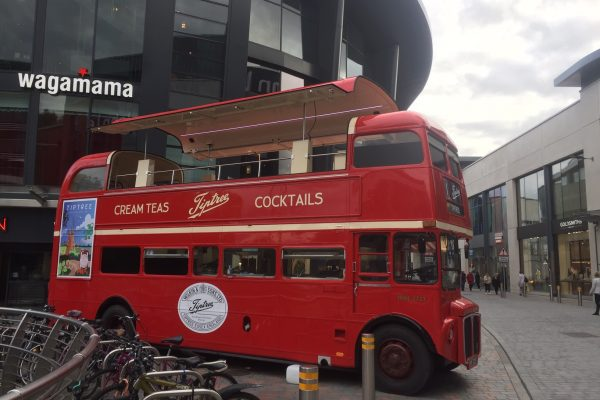 Tiptree Jam Promotional Bus
